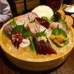 恵比寿(渋谷)のオススメ海鮮居酒屋①、お刺身の盛り合わせが神コスパ